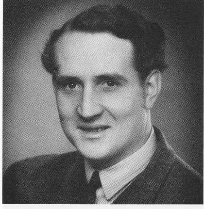 Richard Lødner på den tid han drev keramikkfabrikken. (Foto utlånt av Inger Wåge)