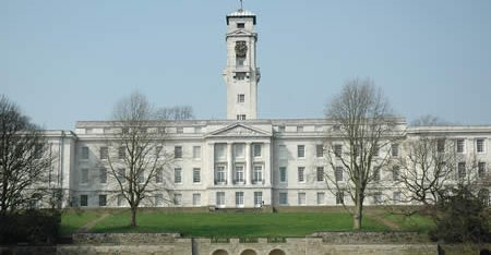 Finance And Infrastructure The University Of Nottingham