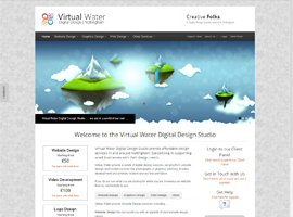 Nottingham Digital Design's Recent Work Virtual Water