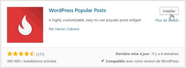 """Résultat de recherche d'images pour """"wordpress popular post"""""""