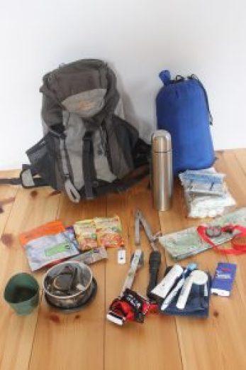 Ein Fluchtrucksack oder auch Notgepäck
