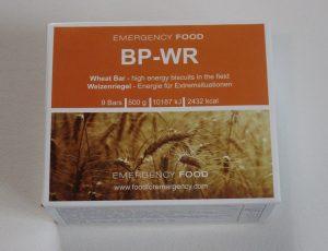 eine Packung Notnahrung BP-WR