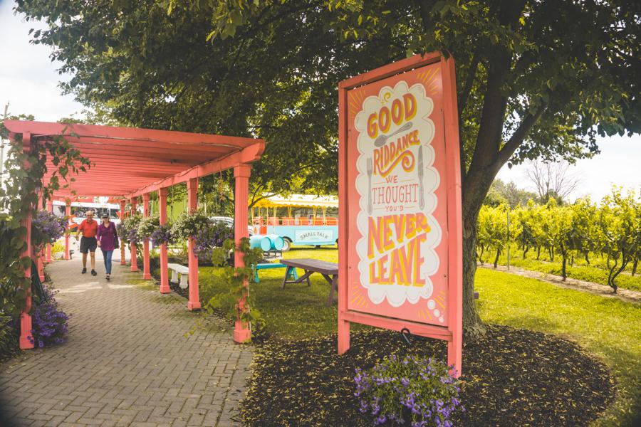 Niagara-on-the-Lake Winery Small Talk Vineyards