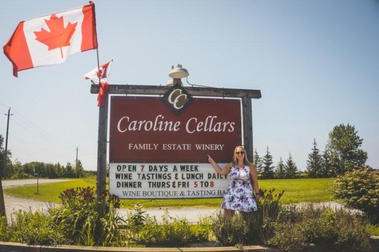 Niagara-on-the-Lake Winery Caroline Cellars