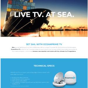 OceanPrime TV: Print & Web