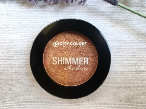 City Color shimmer shadow