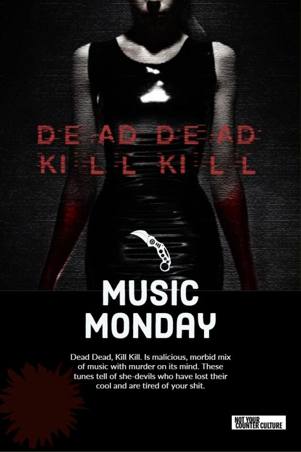 Dead Dead Kill Kill Pin