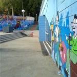 Nou mural per al Casal de Barri de la Prosperitat