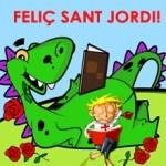 Roses, llibres i solidaritat per Sant Jordi