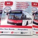 Els veïns demanen a TMB que assumeixi les quatre línies de bus externalitzades a Nou Barris