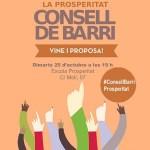 Consell de Barri a la Prosperitat