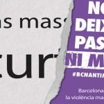 Nou Barris es mou per a l'eliminació de la violència vers les dones
