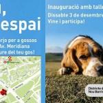 La Prosperitat estrena la nova àrea d'esbarjo per a gossos
