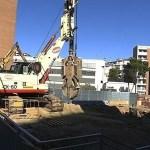En marxa les obres de construcció del poliesportiu del Turó de la Peira