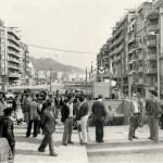 Foto-efemèride: L'arribada del metro a la via Júlia