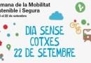Dia sense cotxes per una mobilitat sostenible