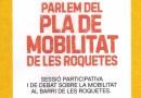 Les Roquetes debat sobre la mobilitat al barri