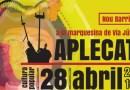 L'Aplecat omple de cultura popular la Marquesina de la Via Júlia