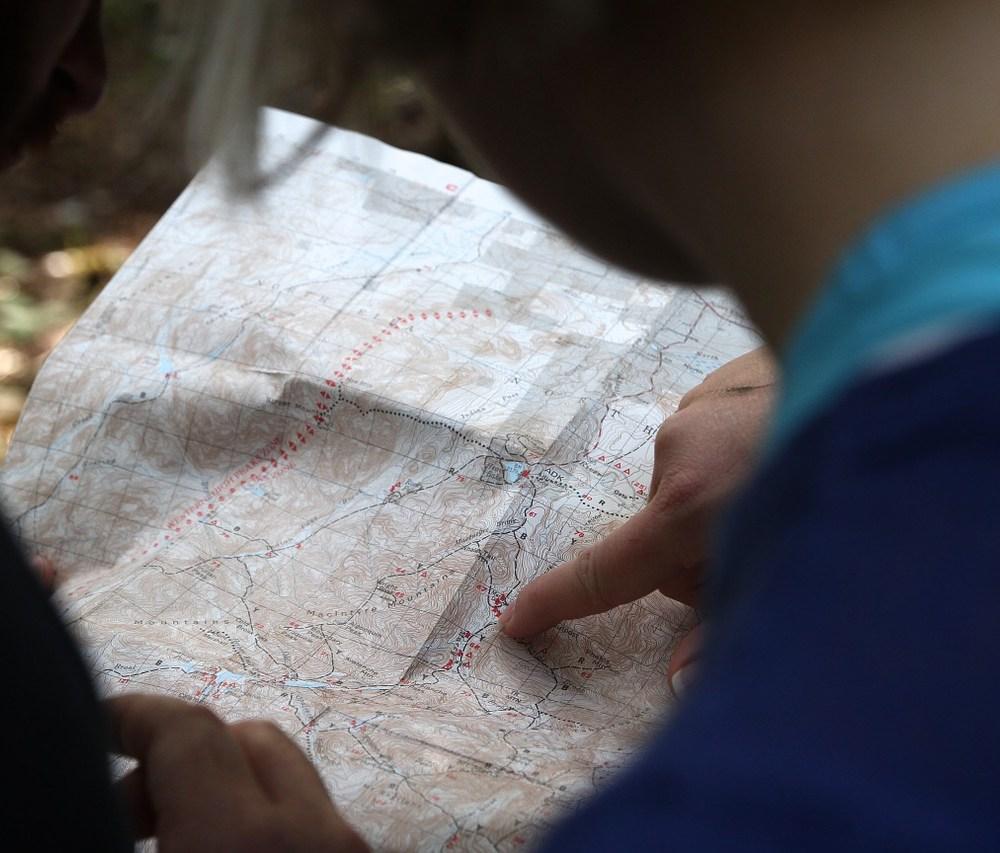 Aprèn com interpretar un mapa