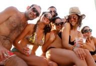 Imagen de una party boat.
