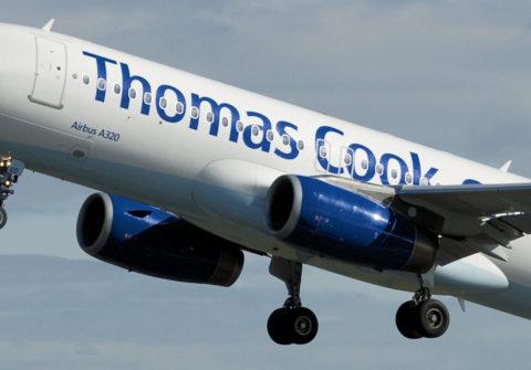 Un avión de Thomas Cook. Foto: Wikipedia.