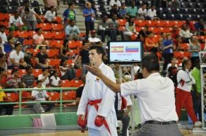 Víctor Aranguren aspira a la medalla de oro en la categoría de -84 kilogramos.
