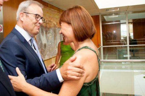 Vicent Torres y Francina Armengol, en una imagen de archivo.