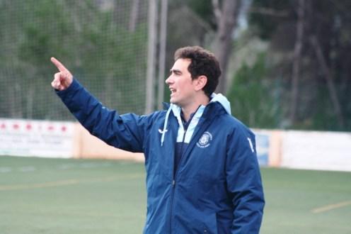 Dani Mori, entrenador de la Peña. Foto: C. V.