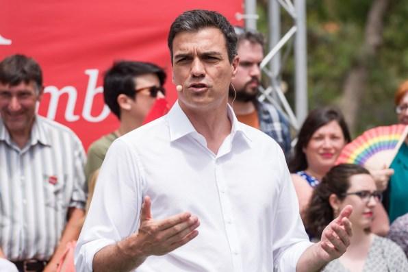 Pedro Sánchez en Ibiza. Foto: FSE-PSOE