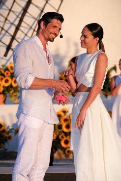 Felipe López le pidió matrimonio a su novia Mireia Canalda. Foto: Sergio G. Cañizares