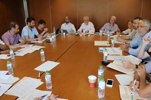 Auditores de la Comisión Europea visitan la isla para comprobar in situ los trabajos de control de la Xylella fastidiosa.