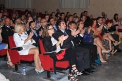 Las autoridades y el público asistente. Foto: G.R.