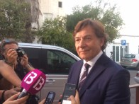 José Ramón Lete, presidente del Consejo Superior de Deportes se desplazó a Ibiza para apoyar a la familia.