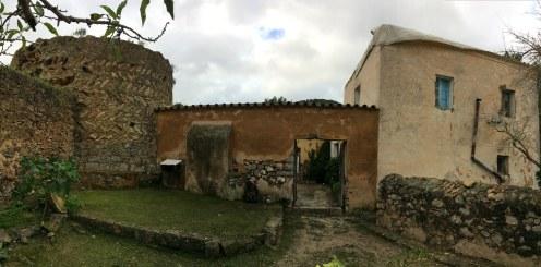 La torre des Coll des Jondal, ubicada en Sant Jordi. Foto: Consell d'Eivissa