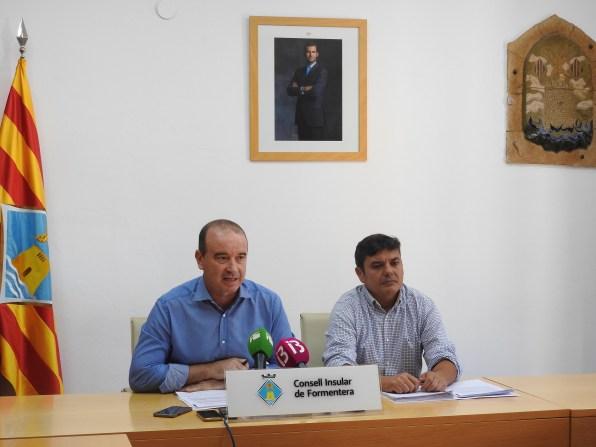 Jaume Ferrer y Bartomeu Escandell.