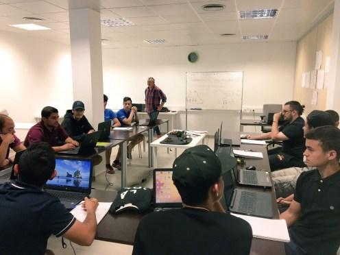 Un dels cursos de formació impartit a Sant Josep.