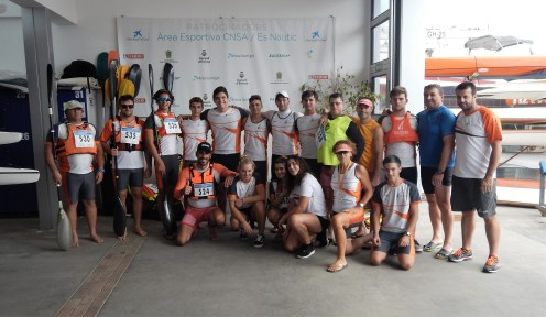 Equipo kayak CNSA