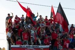 La afición del Formentera. Foto: Paco Natera (Fútbol Pitiuso)