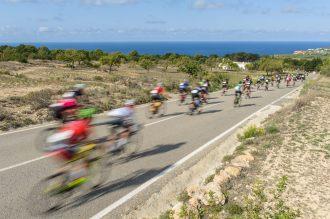 Imagen de la Vuelta Cicloturista a Ibiza. Foto: Jon Izeta