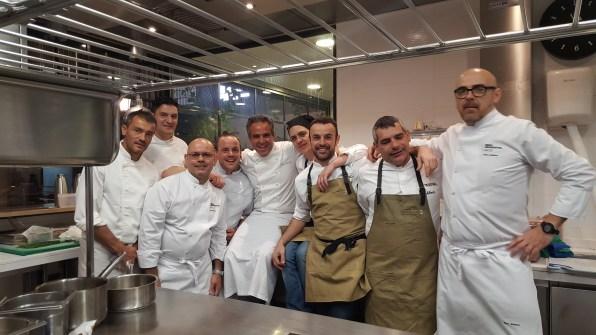 Los chefsibicencos son los encargados de elaborar el menú para los integrantes de la Real Academia de Gastronomía.