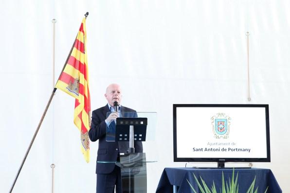Recepción a los deportistas de Sant Antoni
