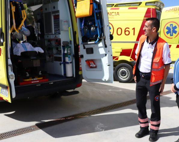 Presentación Ambulancias Ibiza