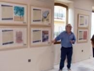 Exposición de artistas pitiusos en Alicante.