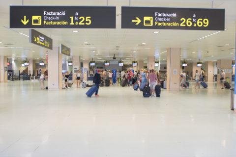 Instalaciones del aeropuerto de Ibiza. Foto AENA