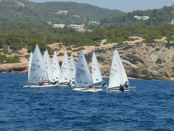 Primera jornada del Trofeo Festes de la Terra de vela.