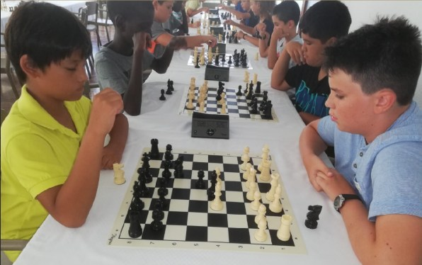 Un torneo de ajedrez en Eivissa.