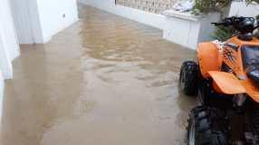 Inundación en Formentera