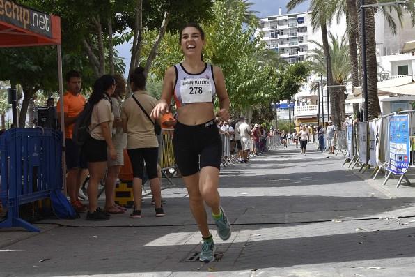 Vasilache en el Mini maratón de Sant Bartomeu 2018.