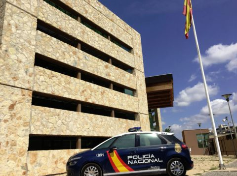 Comisaría de Ibiza de la Policía Nacional. Foto @Polprbaleares