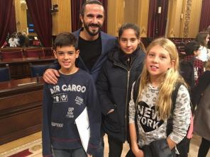Escolars de Formentera al Parlament.
